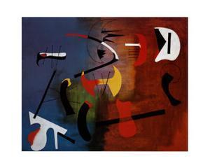 Peinture Composition by Joan Miro