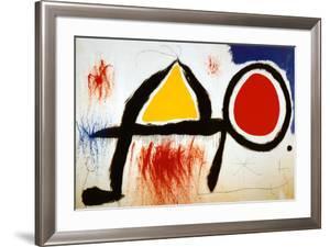 Personagge Devan Le Soleil by Joan Miró