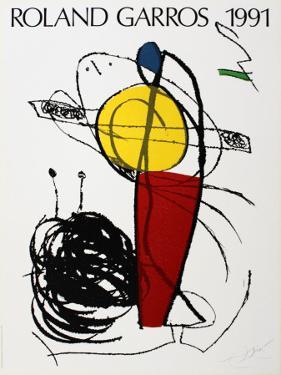 Roland Garros, 1991 by Joan Miró