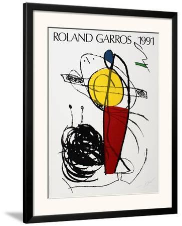 Roland Garros by Joan Miró