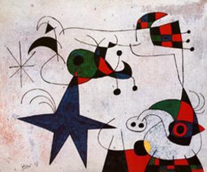 Rythme Passage du Serpent by Joan Miró