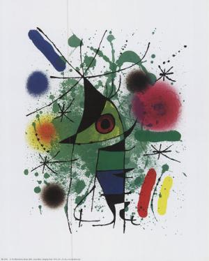 Singing Fish by Joan Miro