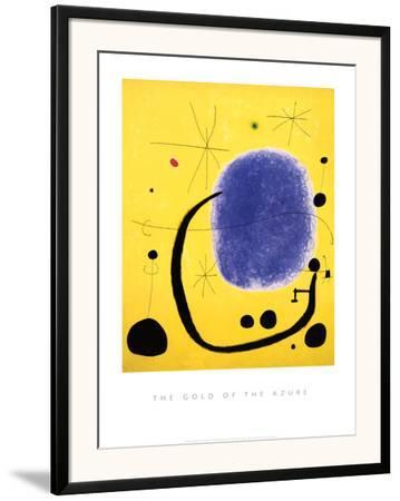 The Gold of the Azure, 1967 by Joan Miró