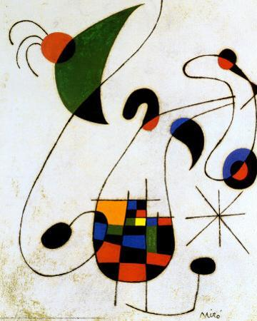 The Melancholic Singer by Joan Miró