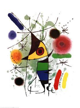 The Singer by Joan Miro