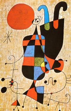 Upside-Down Figures by Joan Miró