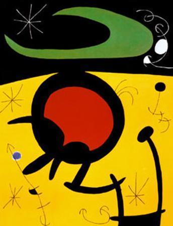 Vuelo de Pajaros by Joan Miró