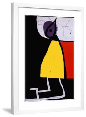 Woman in the Night by Joan Miró