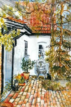 Caroline's Cottage - the Old Post Office by Joan Thewsey