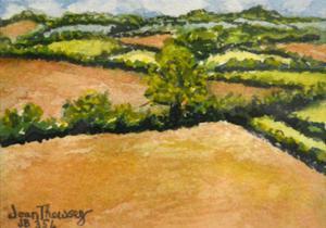 Little Suffolk Landscape by Joan Thewsey