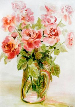 Pink Roses by Joan Thewsey