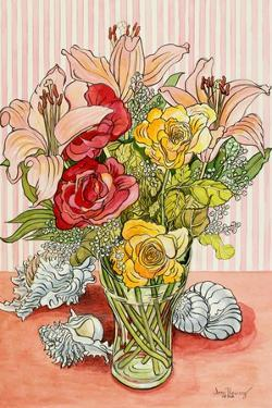 Roses, Lillies and Shells, 2008 by Joan Thewsey
