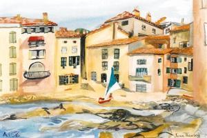 Saint-Tropez, the Bay by Joan Thewsey