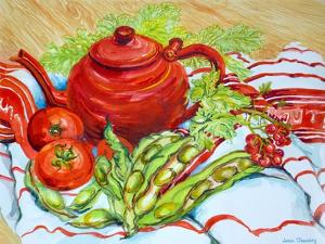 The Red Teapot by Joan Thewsey