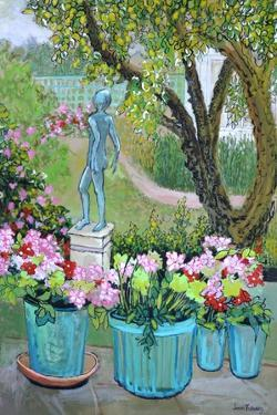 The Statue 'Tilly' in the Garden, 2017 by Joan Thewsey