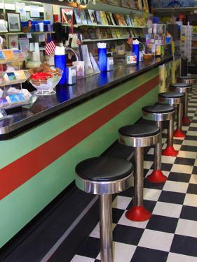 Ice Cream Soda Fountain, Apalachicola, Florida, USA by Joanne Wells