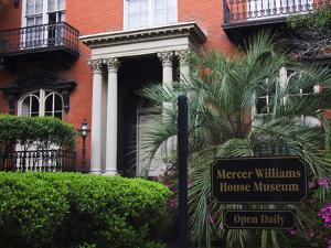 Mercer Williams House Museum, Savannah, Georgia, USA by Joanne Wells