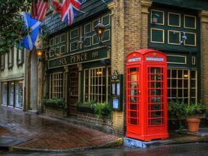 Telephone Booth, Savannah, Georgia, USA by Joanne Wells