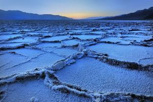 Badwater Dusk, Death Valley, California by Joao Figueiredo