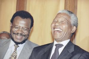 Nelson Mandela by Joao Silva