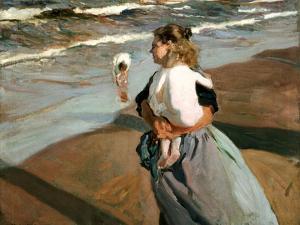 The Little Granddaughter, 1908 by Joaqu?n Sorolla y Bastida