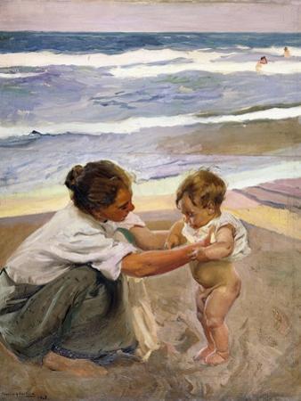 A La Orilla Del Mar, 1908 by Joaquín Sorolla y Bastida