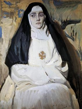 A Nun by Joaquín Sorolla y Bastida