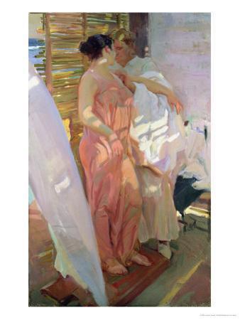 After the Bath, 1916 by Joaquín Sorolla y Bastida