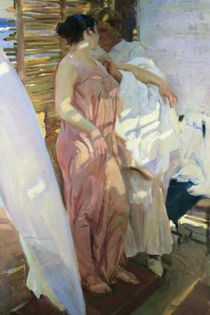 After the Bath by Joaquín Sorolla y Bastida