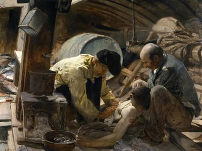And They Still Say Fish are Expensive!, 1894 by Joaquín Sorolla y Bastida
