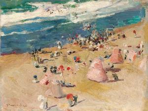 Beach at Biarritz, 1906 by Joaquin Sorolla y Bastida