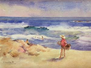 Boy on the Sand by Joaquín Sorolla y Bastida