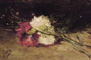 Carnations by Joaquín Sorolla y Bastida
