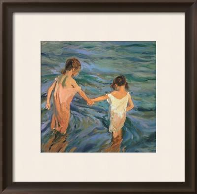 Children in the Sea, 1909 by Joaquín Sorolla y Bastida