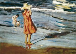 Children on the Beach by Joaquín Sorolla y Bastida