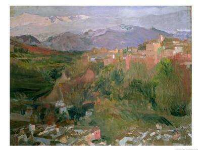 Granada, 1920 by Joaquín Sorolla y Bastida
