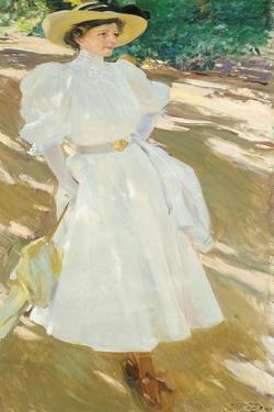 Maria at La Granja, 1907 by Joaquin Sorolla y Bastida
