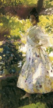 Maria Dressed as Valencian Farmer by Joaquín Sorolla y Bastida