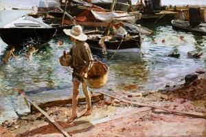 Puerto De Valencia, 1897 by Joaquín Sorolla y Bastida