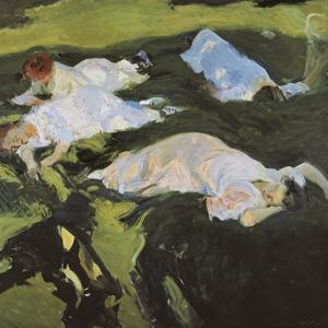 The Nap by Joaquín Sorolla y Bastida