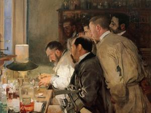 The Research by Joaquín Sorolla y Bastida