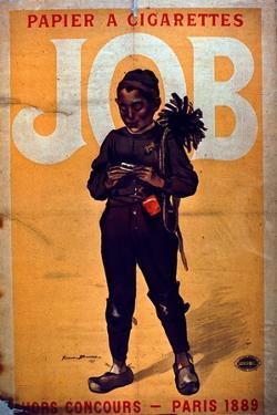 Job Cigarette Paper, 1895