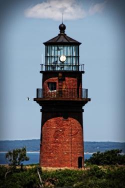 Gay Head Lighthouse Marthas Vineyard MA by Jobe Waters