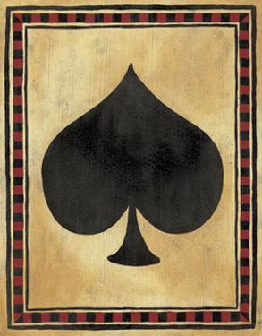 Lucky Shuffle I by Jocelyne Anderson-Tapp