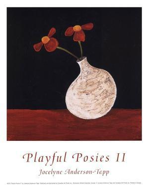 Playful Posies II by Jocelyne Anderson-Tapp