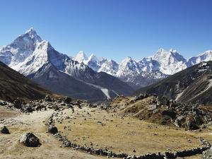 Ama Dablam, Sagarmatha Nat'l Park, UNESCO World Heritage Site, Nepal by Jochen Schlenker
