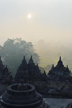 Borobodur, Kedu Plain, Java, Indonesia, Asia by Jochen Schlenker