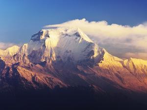 Dhaulagiri Himal Seen from Khopra, Annapurna Conservation Area, Dhawalagiri (Dhaulagiri), Nepal by Jochen Schlenker