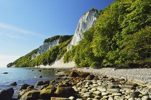 Koenigsstuhl, Chalk Cliffs, Jasmund National Park by Jochen Schlenker