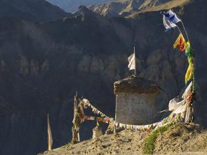 Lamayuru Gompa (Monastery), Lamayuru, Ladakh, Indian Himalayas, India, Asia by Jochen Schlenker